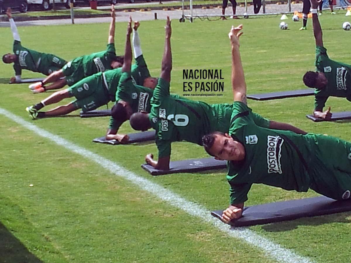 Nacional ajusta sus lineas para la  Libertadores
