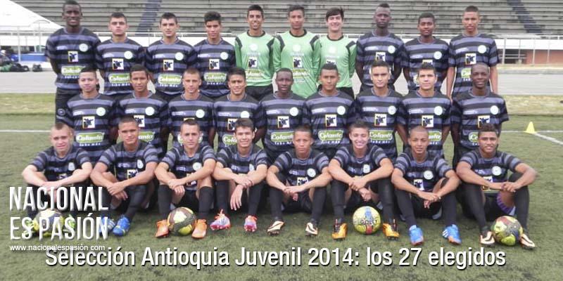 Dos juveniles verdolagas a la selección Antioquia