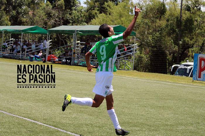 David Castañeda goleador en Nacional y en Urabá