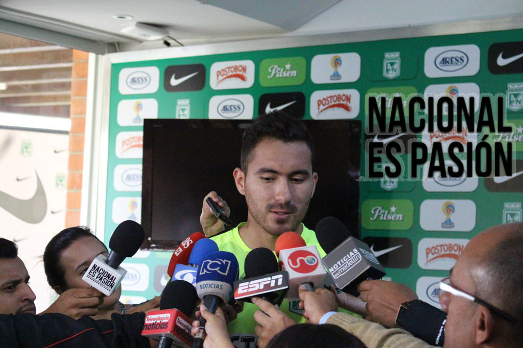 "Juan Pablo Nieto: ""Vengo a hacer historia"""