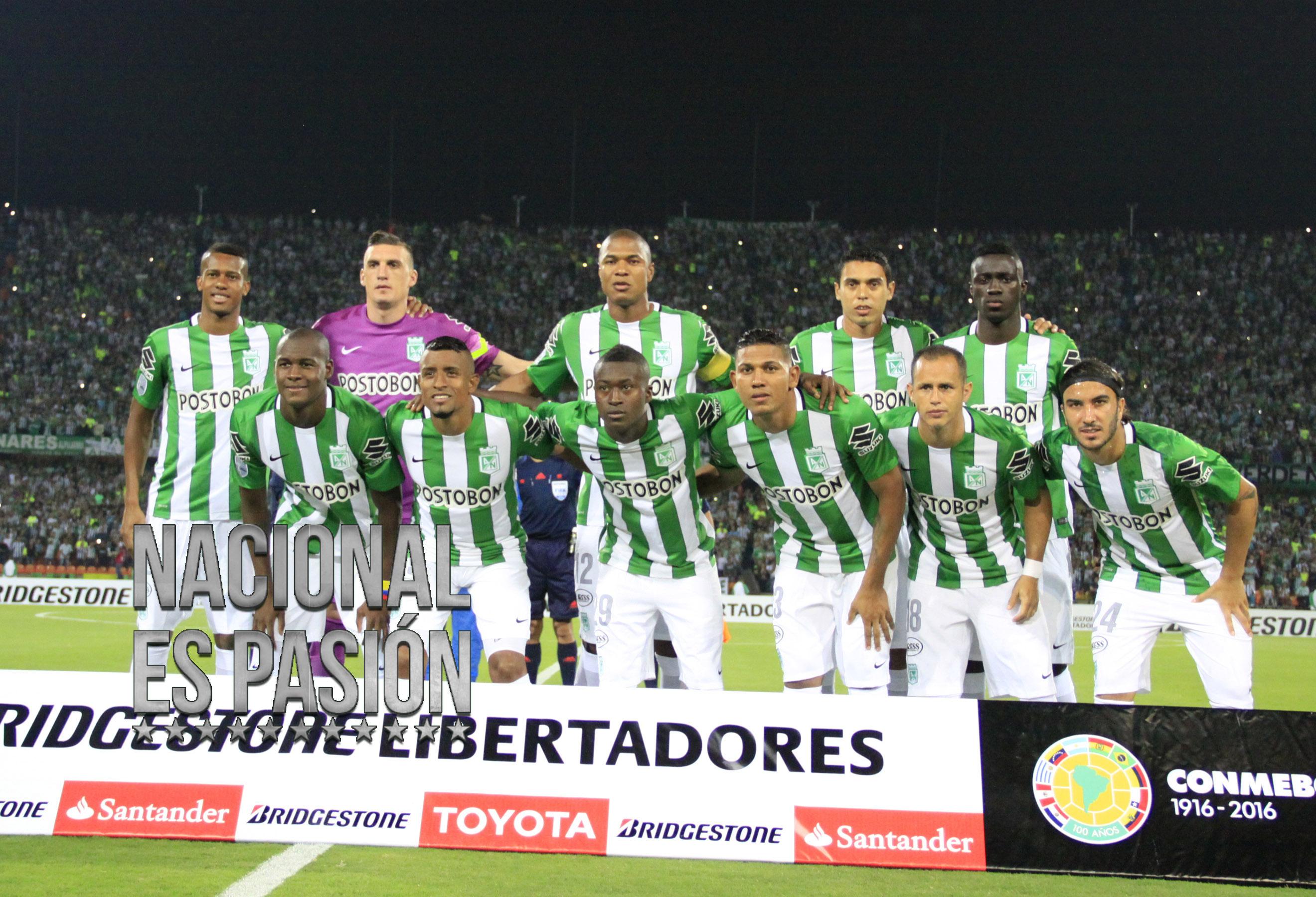 Atletico Nacional Vs Sporting Cristal: la libertadores en imágenes