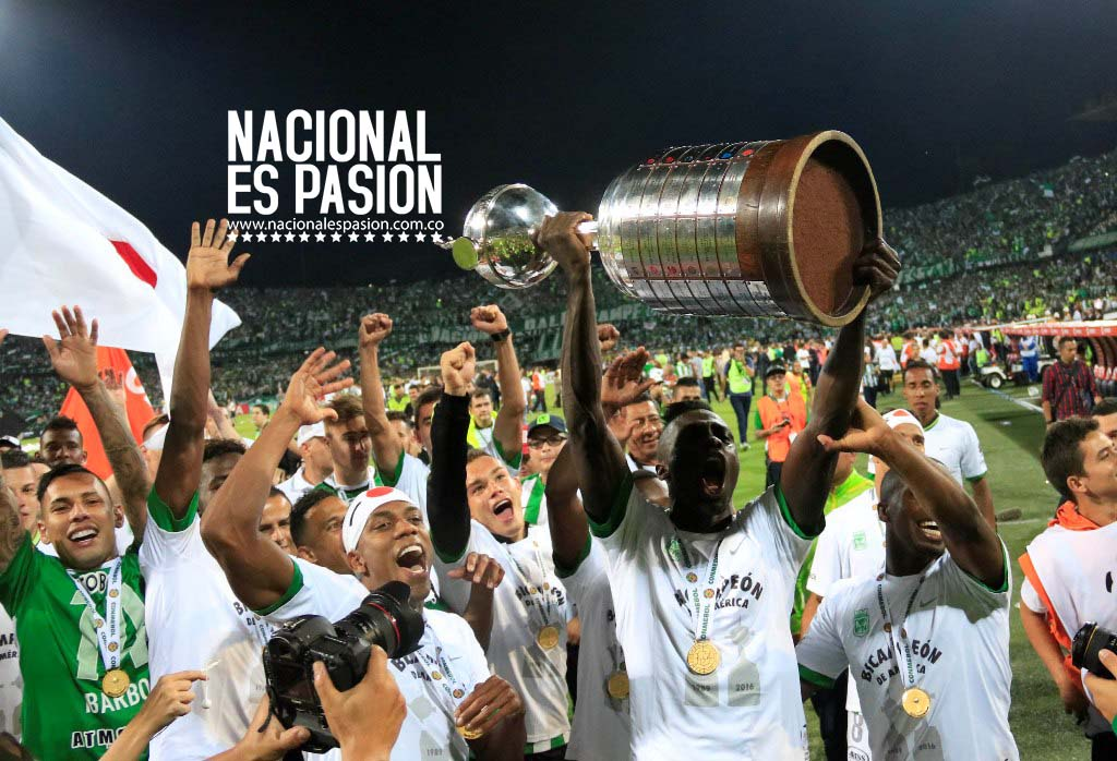 Nacional ¡Campeón continental!