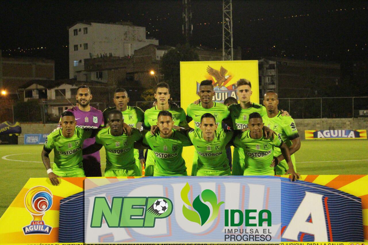 El empate de Atlético Nacional ante Envigado en Imágenes