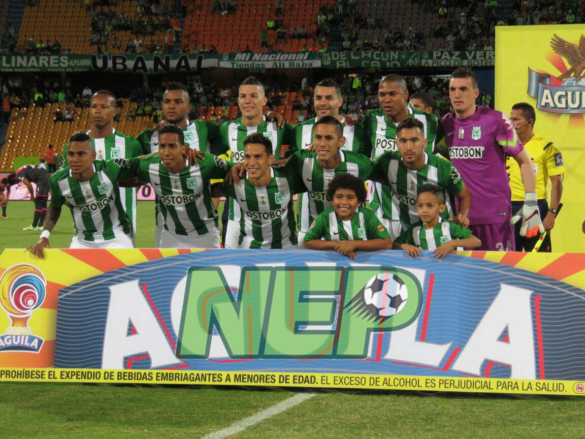Imágenes del empate de Atlético nacional ante Santa Fe por Copa Águila