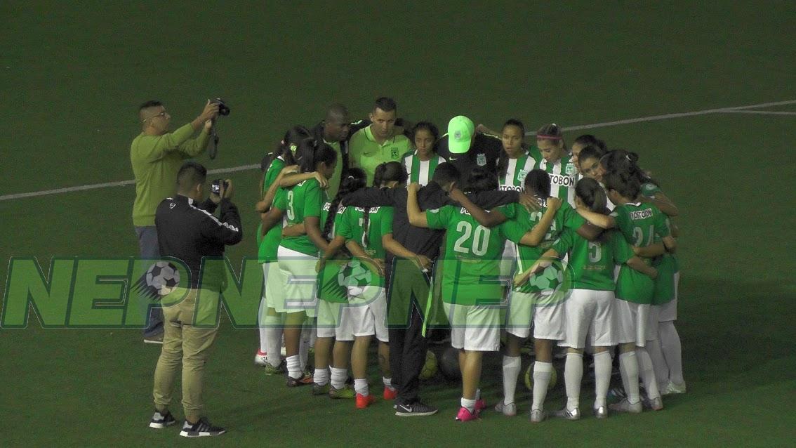 ¡Partidazo! en las finales del fútbol femenino: Atlético Nacional 2 Molino viejo 2.