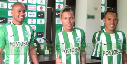 Aldo, Dayro y Edwin: Venimos a ser campeones de América con Atlético Nacional
