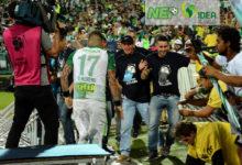 Atlético Nacional vs Huila, en la celebración del día del hincha