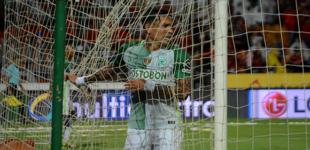 Caldas   0  – Atlético  Nacional   1: Resultado corto