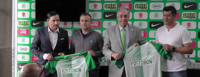 Presentación del nuevo DT verdolaga, Jorge Almirón…