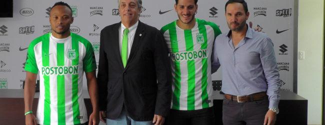 Presentación oficial de Camilo Zuñiga y Gonzalo Castellani en Guarne …
